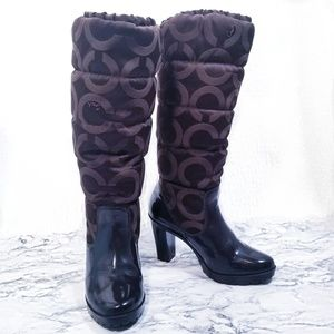 NWT Coach boots